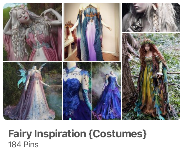 Fairy Costume Inspiration on Pinterest