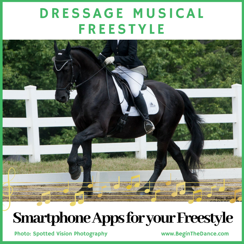 Learn how to create a dressage musical freestyle.   Click here.