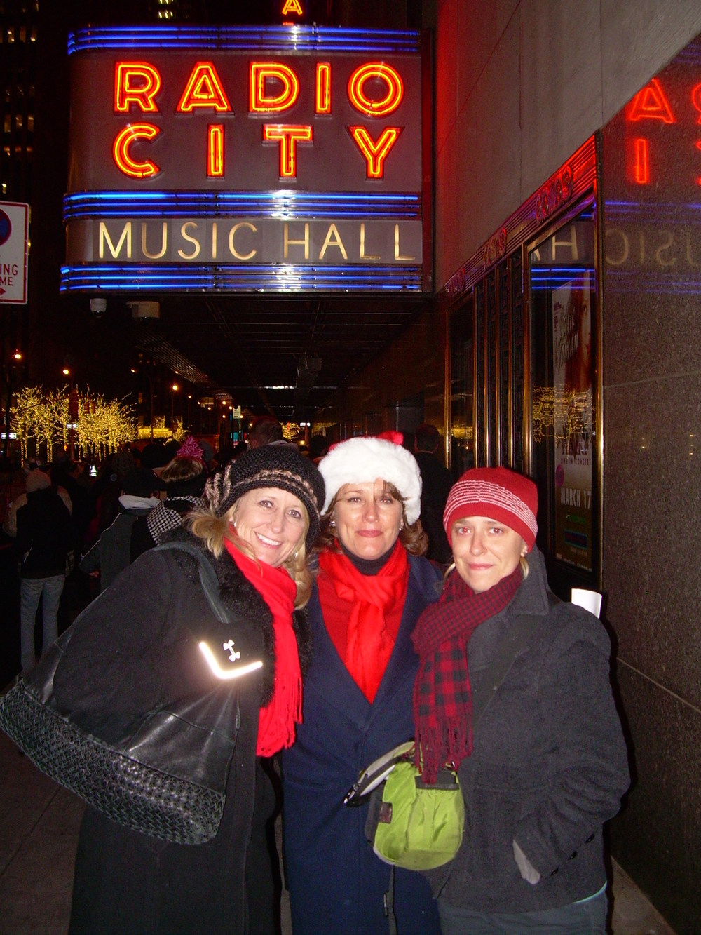 Marci, Me and my daughter on a trip to see the Rockettes for my Birthday.