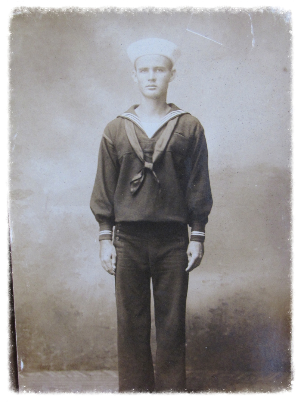 Kenneth Rousseau, 1919. U.S.Navy