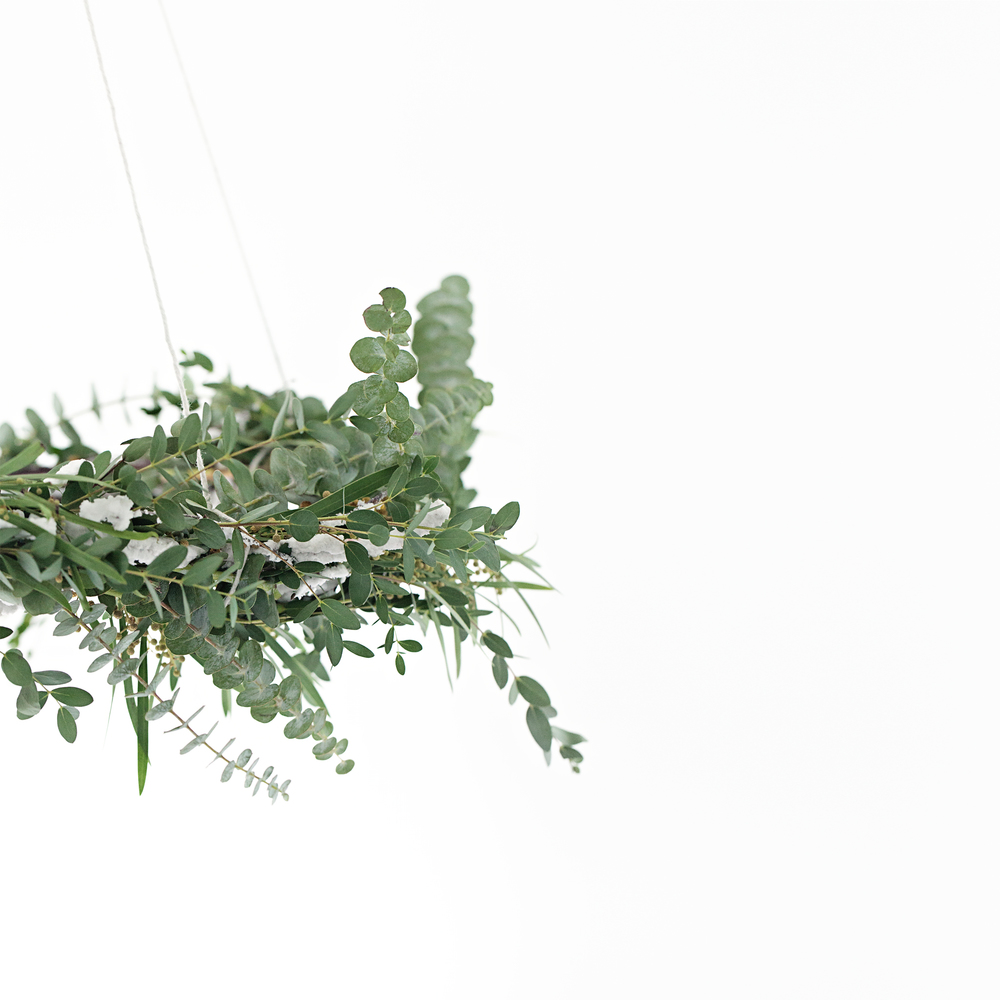 Fresh Eucalyptus hanging wreath