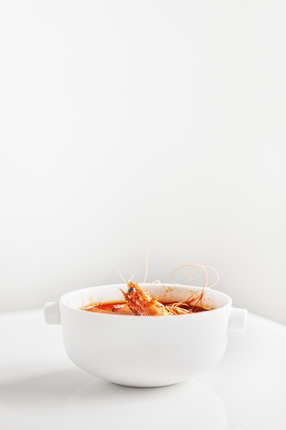 Prawns Tom Yum Soup | Ceramic Bowl from  Serax