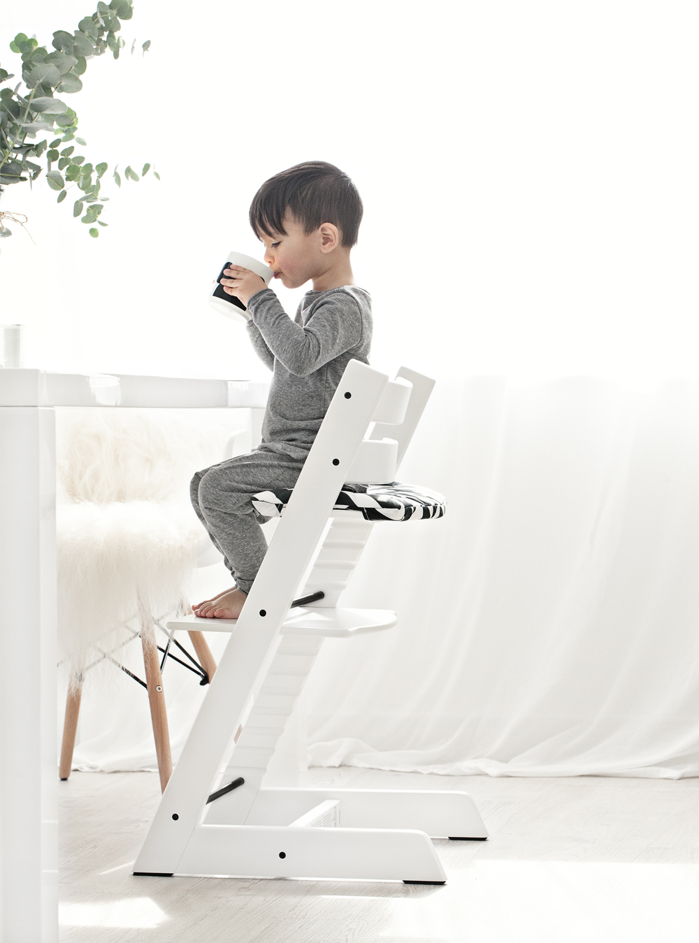 Tripp Trapp chair and accessories from Stokke