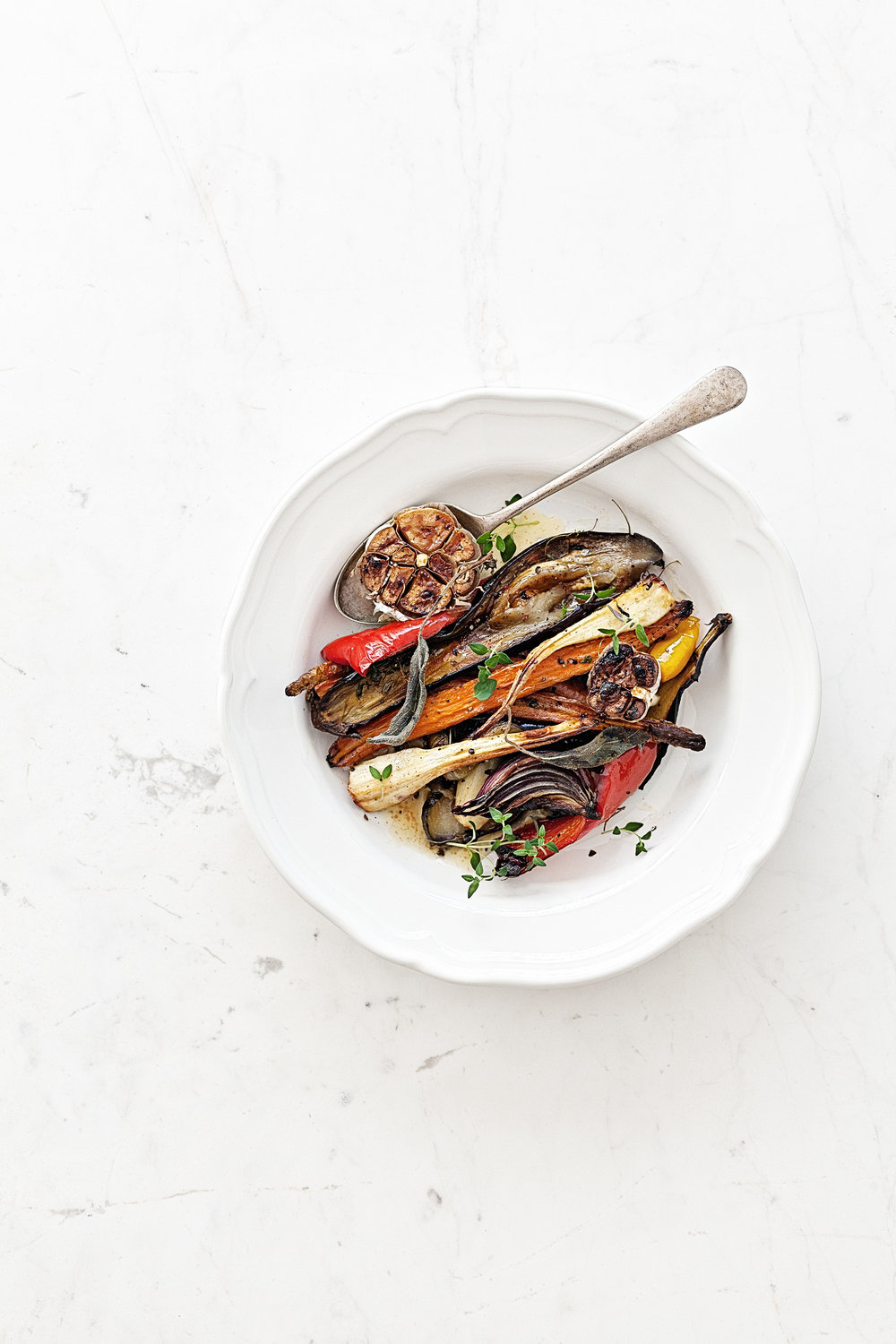 Honey Glazed Roasted Vegetables | www.maegabriel.com