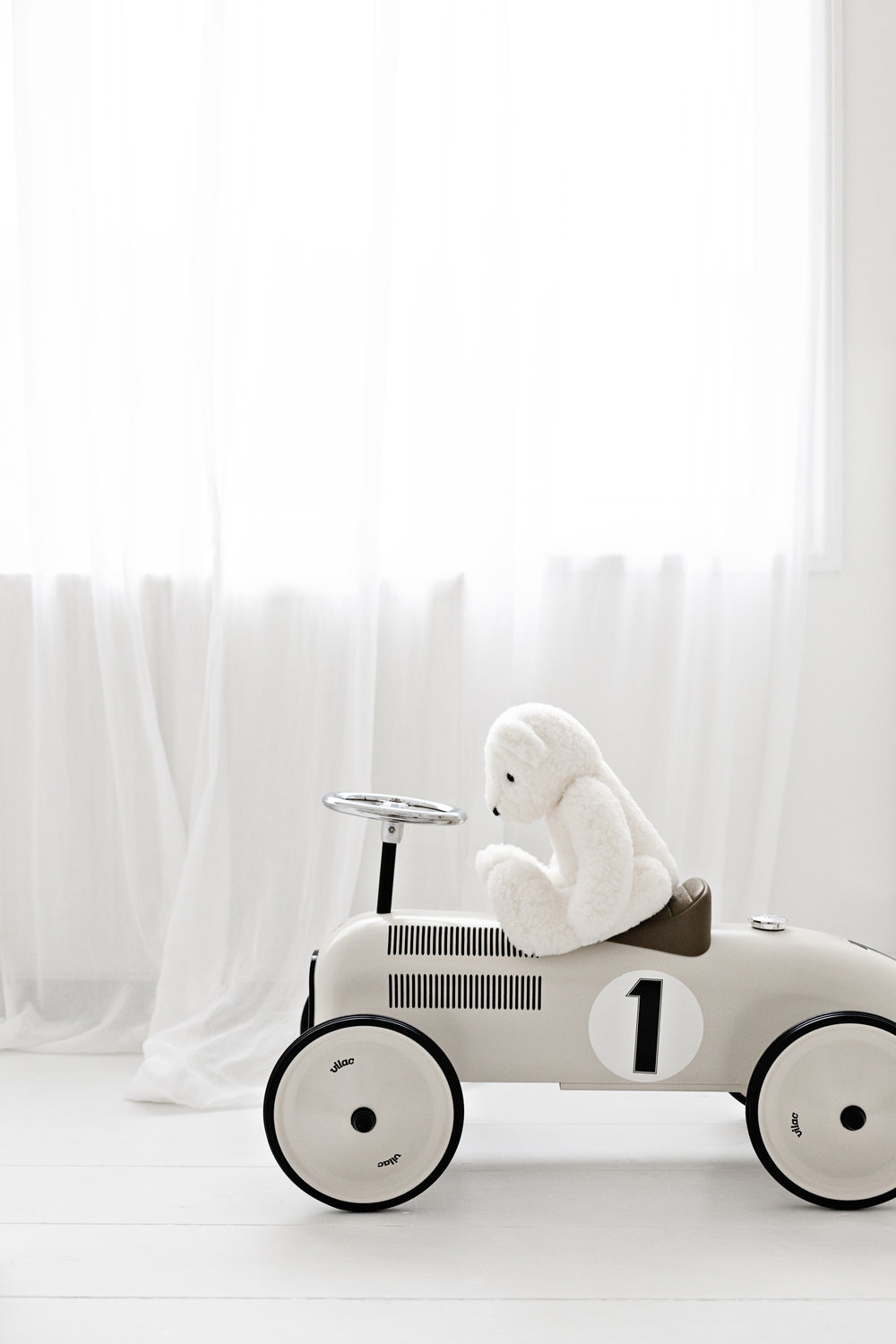 Vintage Bear & Vintage Car from The Little White Company