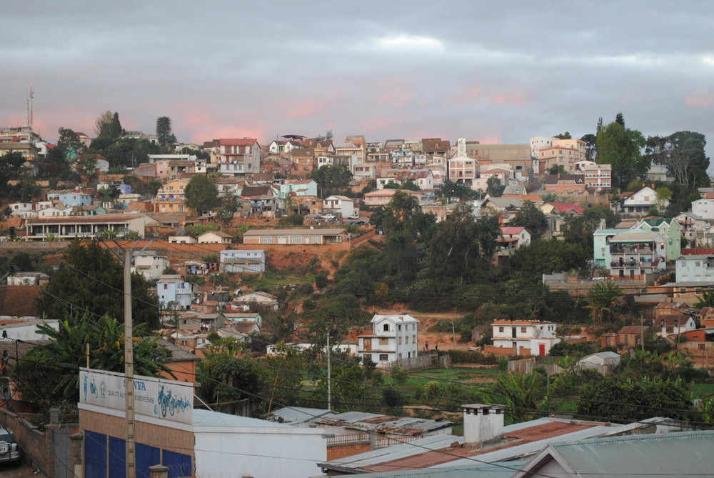 From afar the city of seven hills, Antananarivo, looks lovely in the evening light.  Close up it is a troubled and desperate landscape, full of hurt and hunger, very much in need of the saving grace of Jesus Christ.