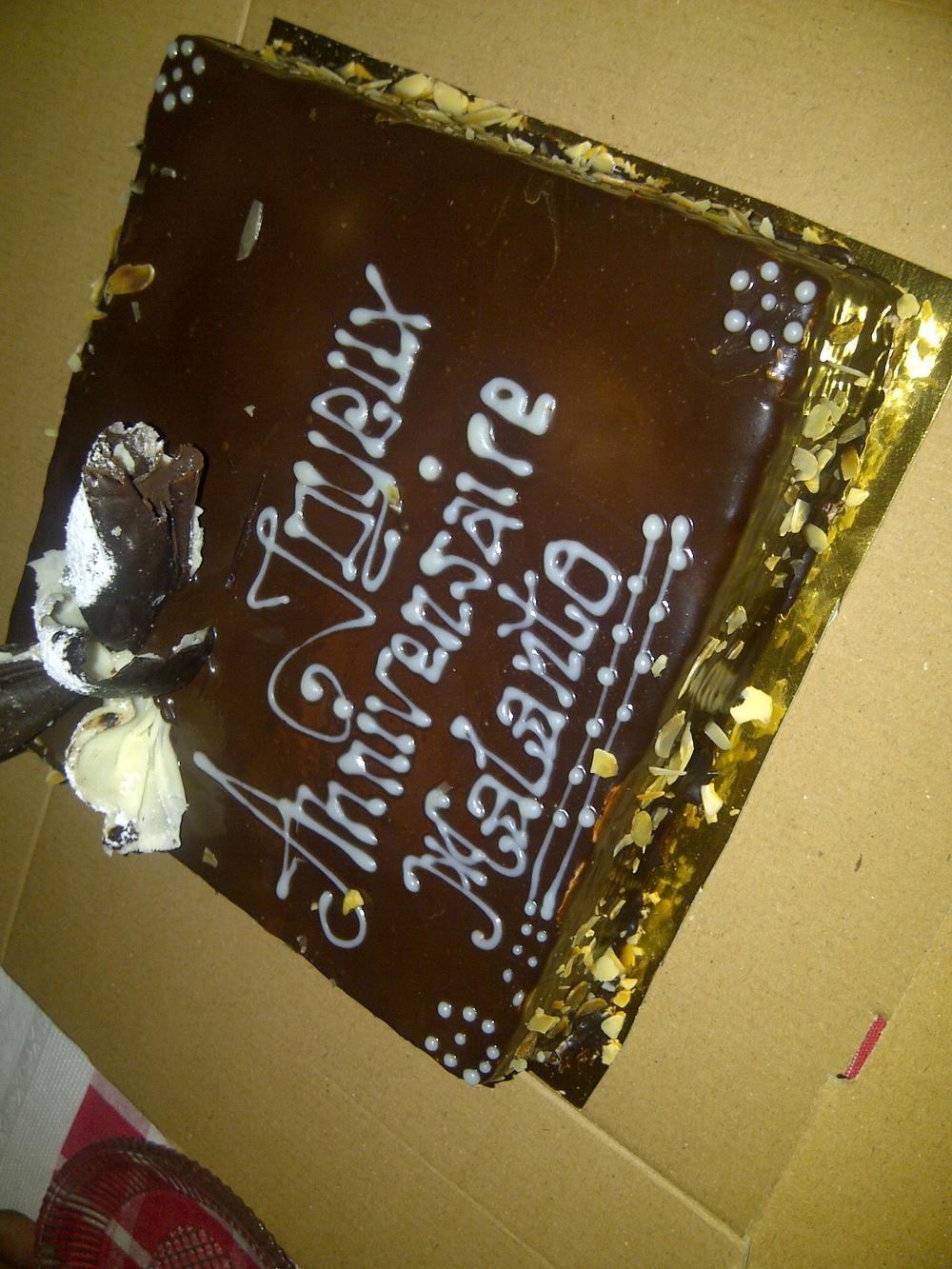 Malanto's Birthday Cake