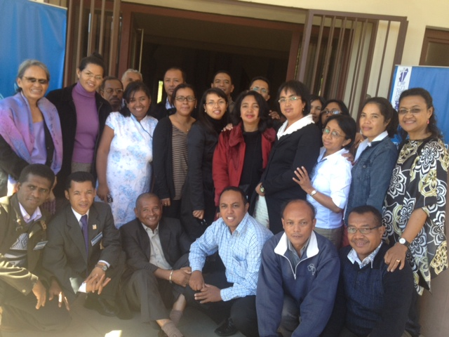 The BE Madagascar Training Team