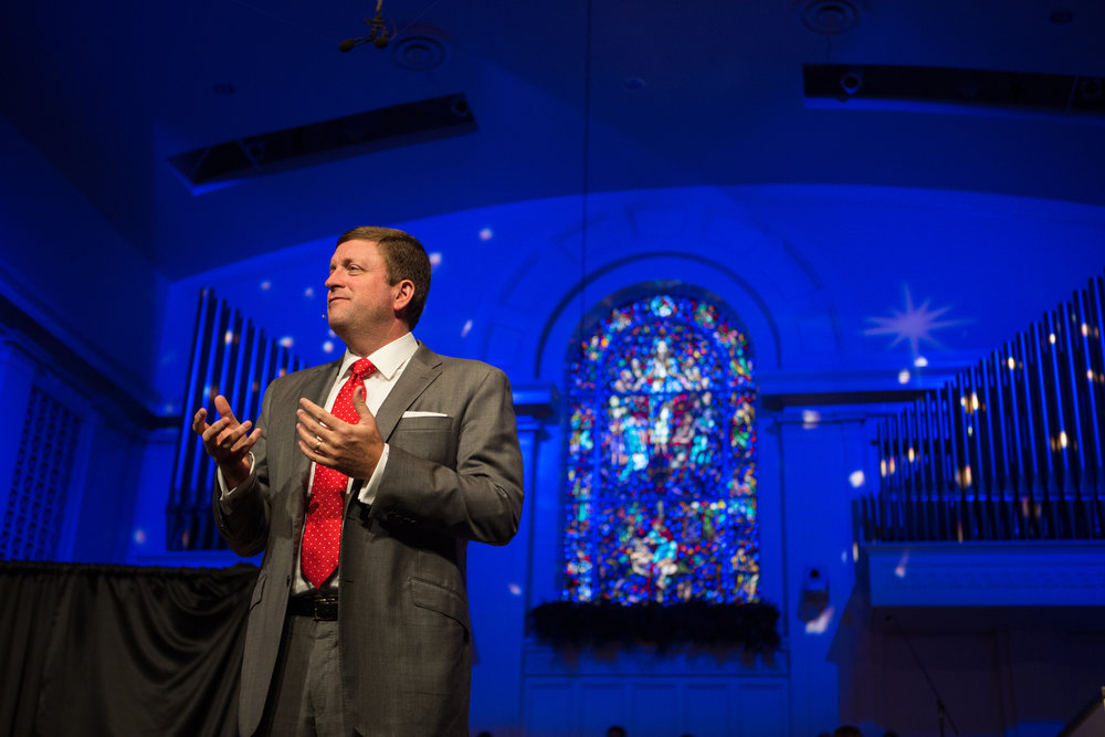 Dr. Swanson welcomes guests at our Christmas Eve worship services in 2015. Dr. Swanson shares a message in 6pm, 8pm and 10pm worship services.