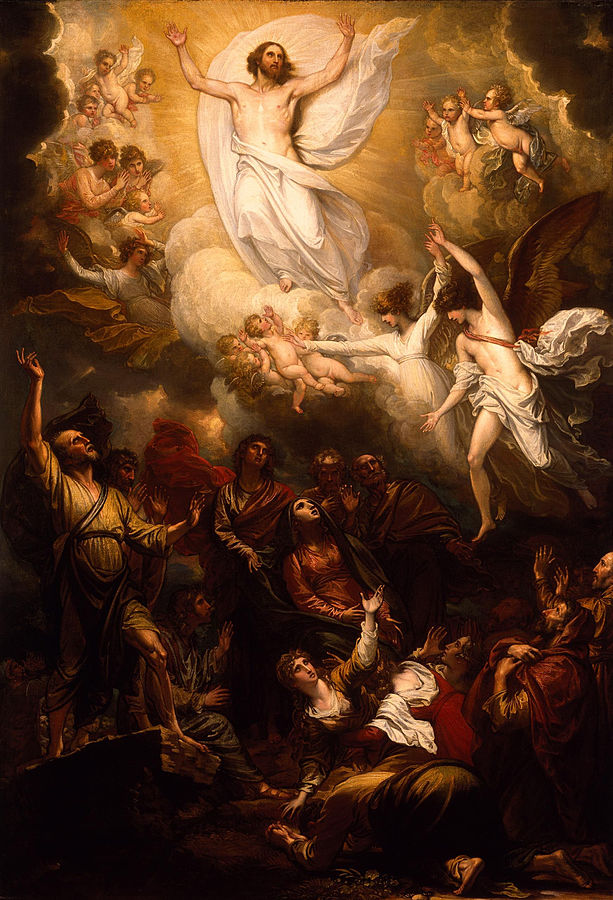 The Ascension, Benjamin West, 1801