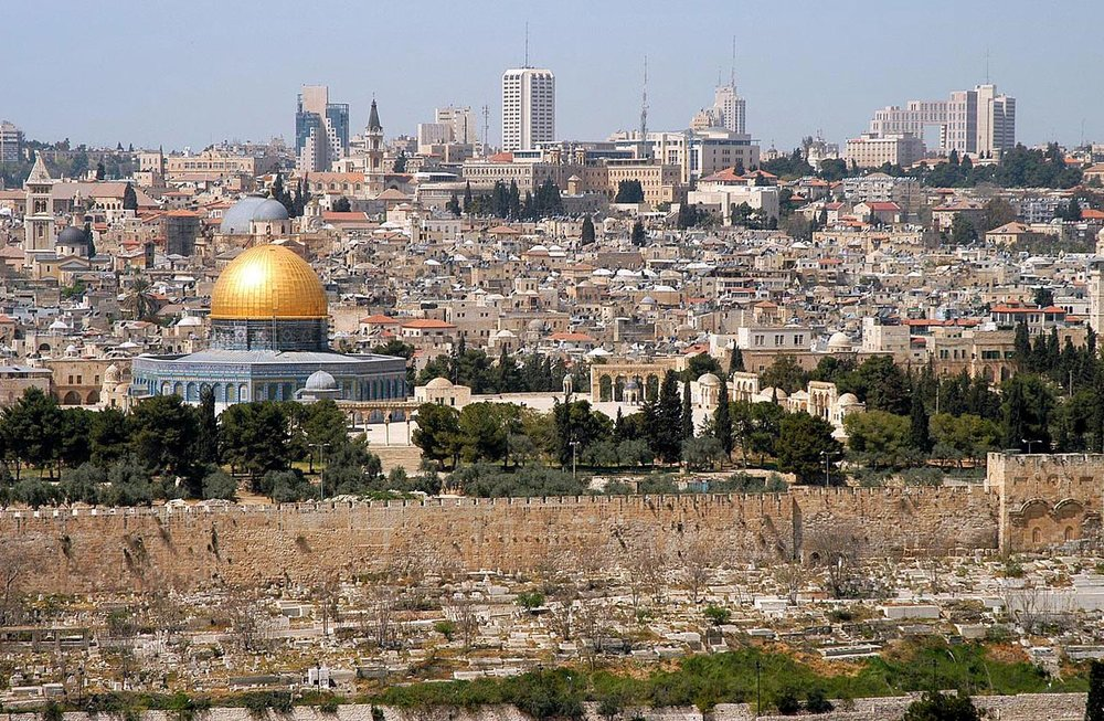 —McLean, Wayne.  Jerusalem from Mt. Olives. 2005.