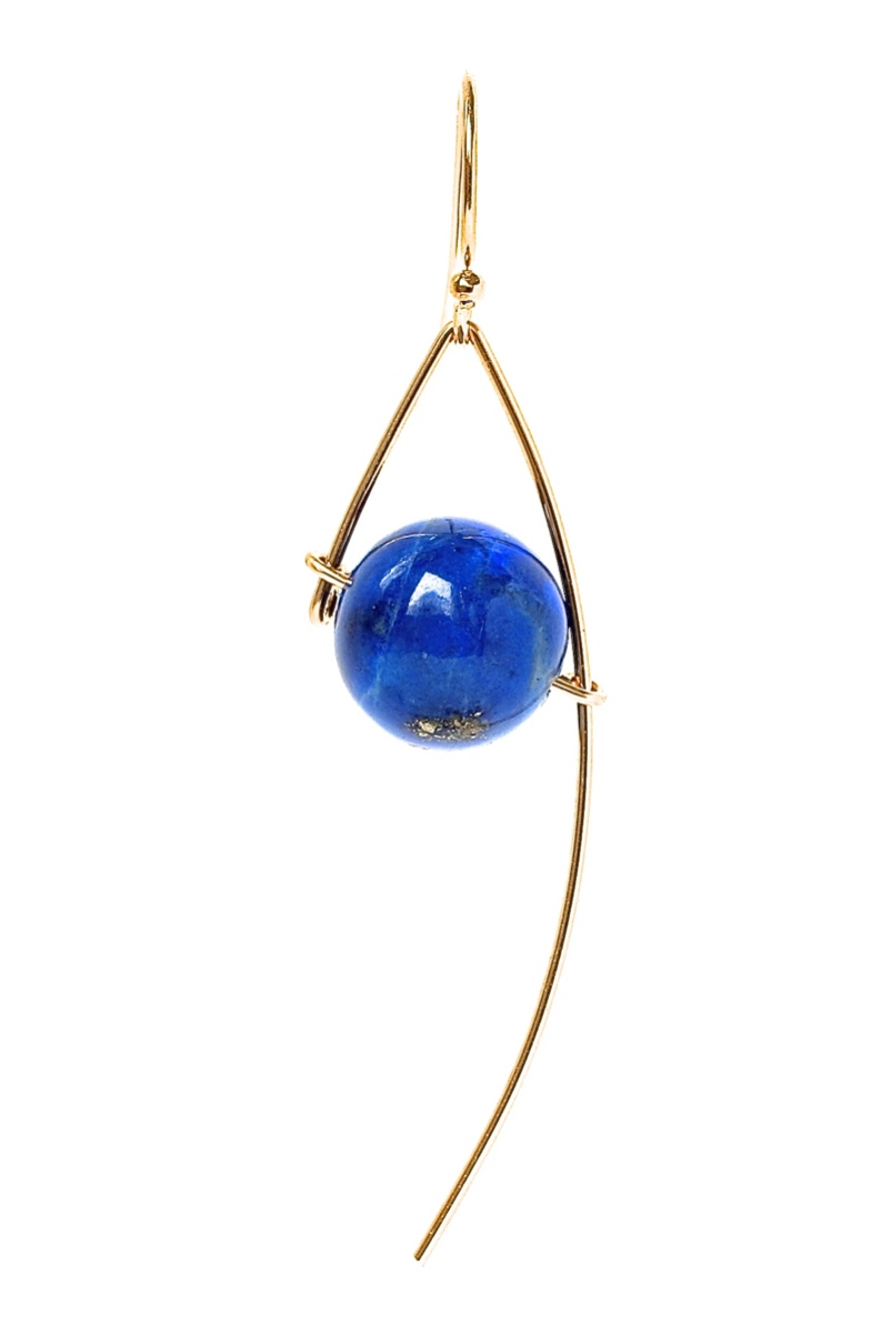 RINJUEL ONE earrings in lapis