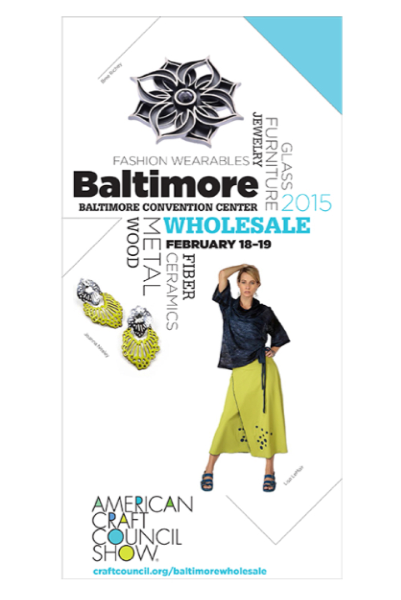 RINJUEL ACC American Craft Council Baltimore Wholesale Show Feb 18 19 2015 Booth 6106 contemporary architectural jewelry