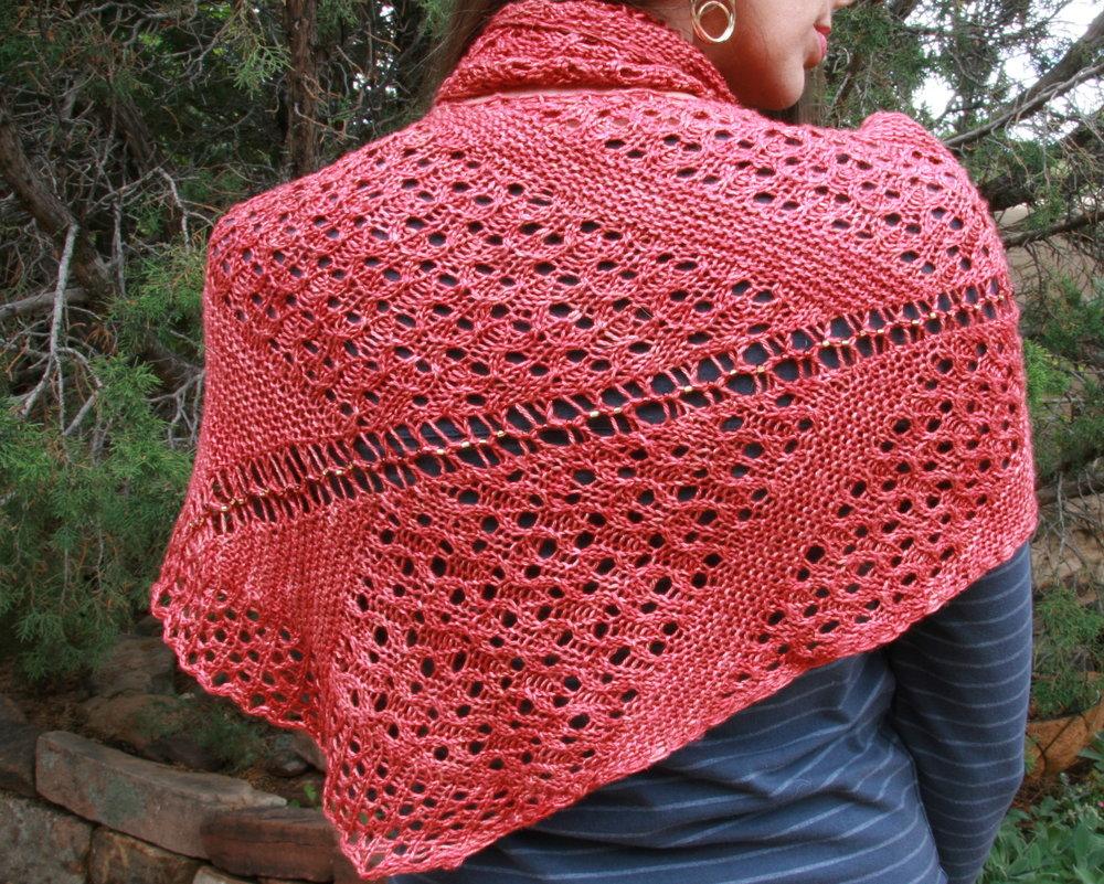 Calaveras shawl