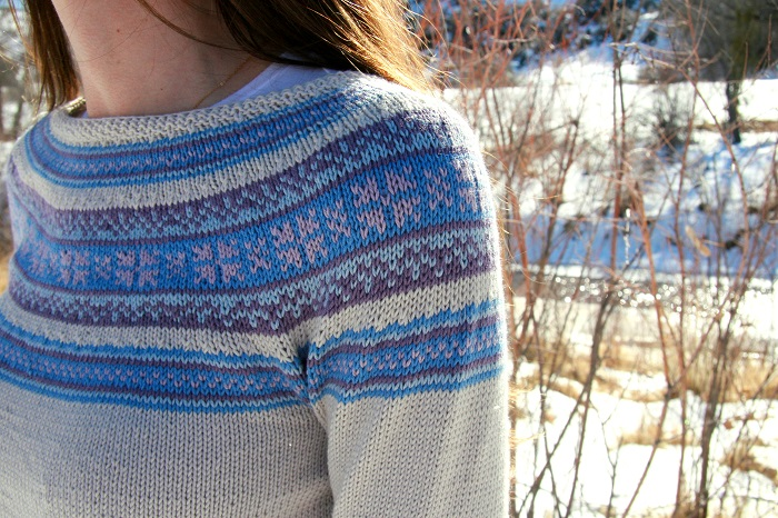 Spring Frost Sweater