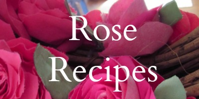 Fabric Rose Recipes