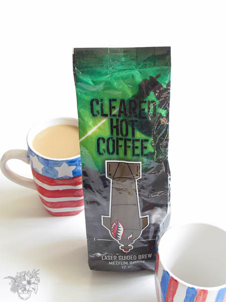 Cleared Hot Coffee and Watercolor Mug Giveaway