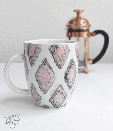 Easy Watercolor Sharpie Mugs that actually last!!