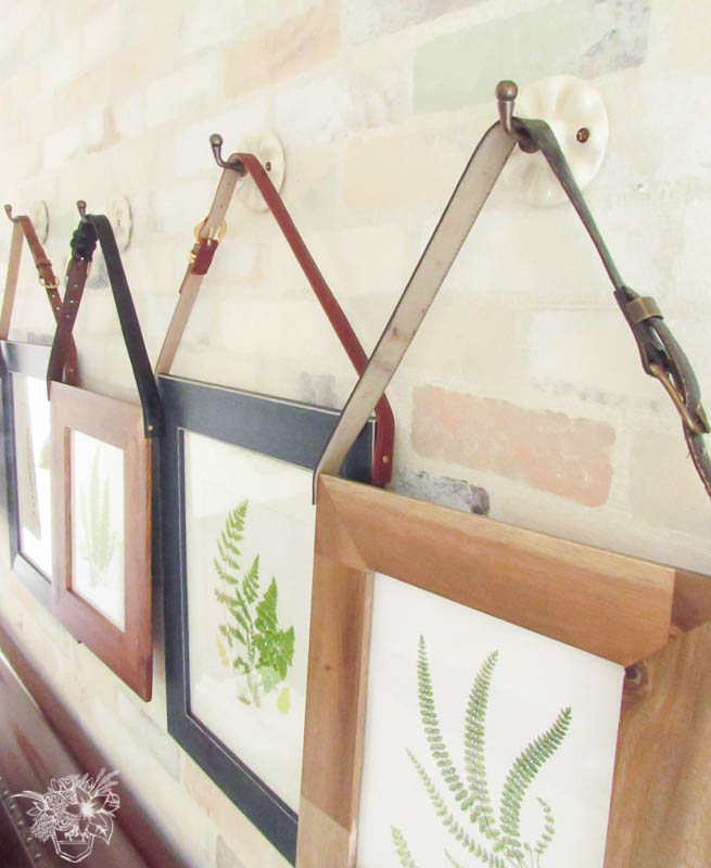 Romantic Industrial Frames from the side