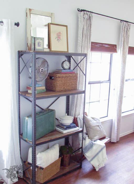 Romantic Industrial Shelf
