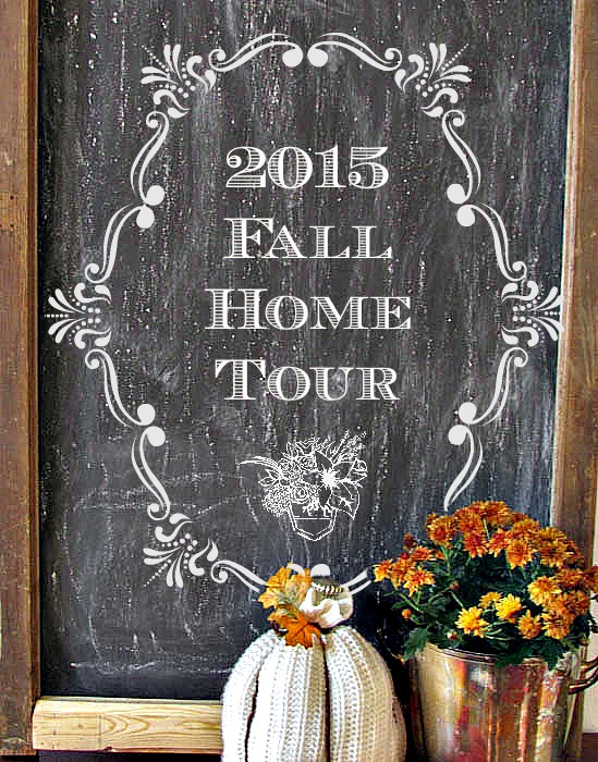 Fall Home Tour Image - Pocketful of Posies