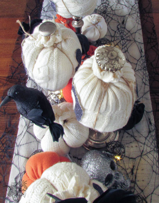 Boo! Sweater Pumpkins - Pocketful of Posies