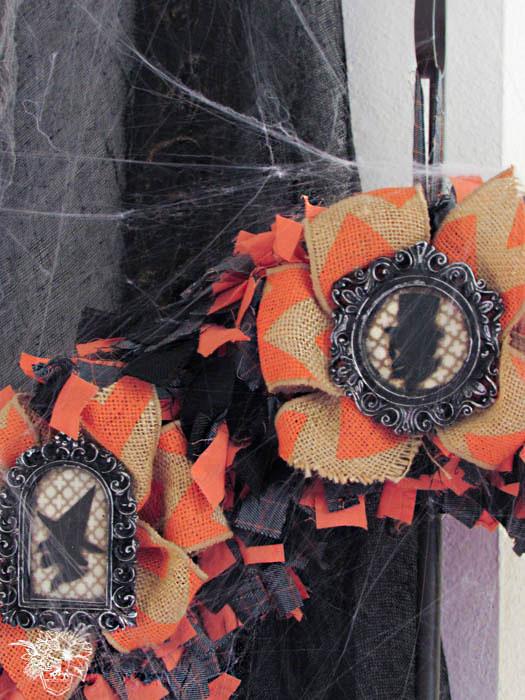 Spectacular Halloween Mantle - Pocketful of Posies