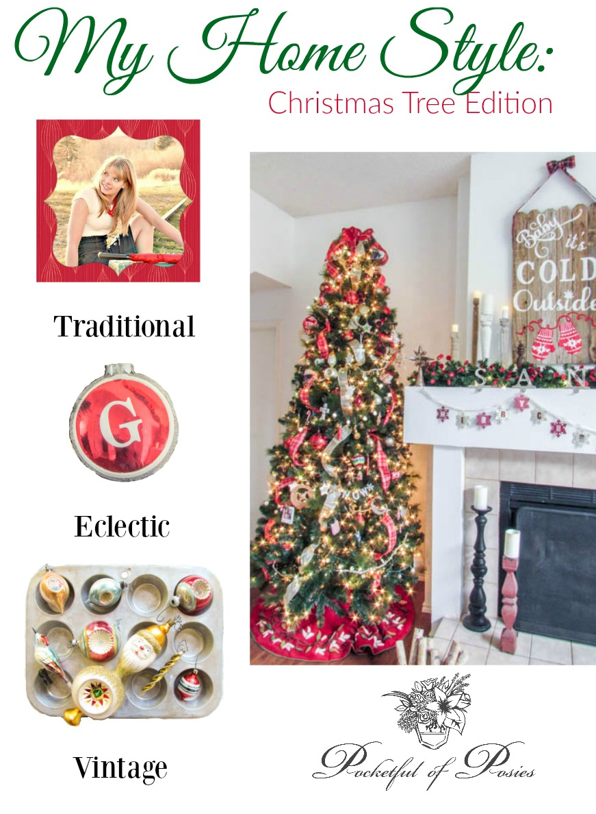 My Home Style Christmas Tree Edition - Pocketful of Posies