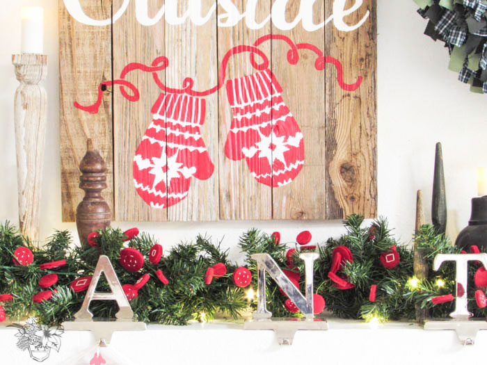 Create and Share Reclaimed Wood Holiday Sign