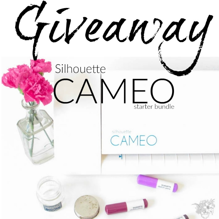 Silhouette Cameo II Giveaway - Pocketful of Posies
