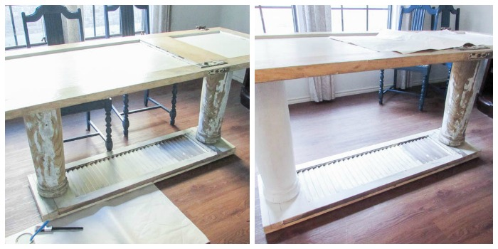 Old Door to New One of a Kind Dining Table - February Create and Share Challenge
