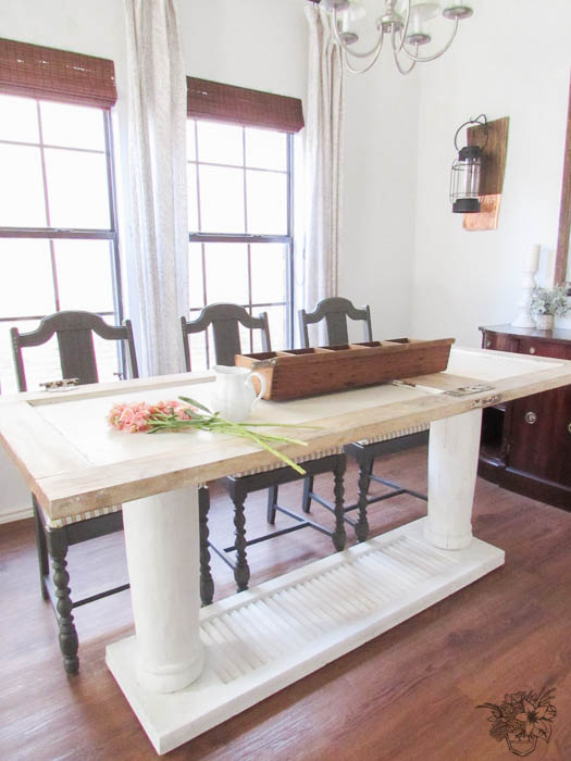 Old Door To New One Of A Kind Dining Table