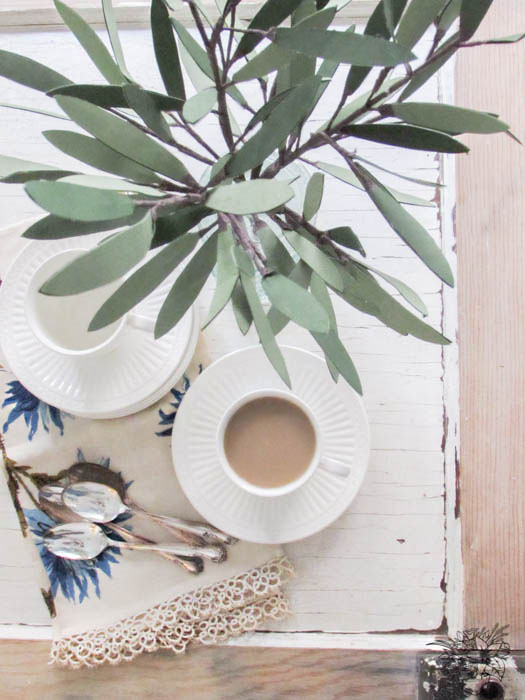 DIY Paper Olive Branches - Pocketful of Posies