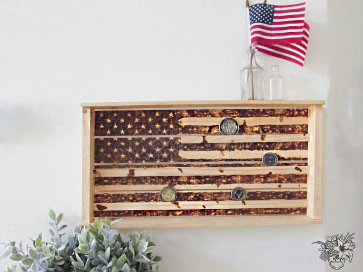 DIY Military Coin Box - March Create and Share Challenge
