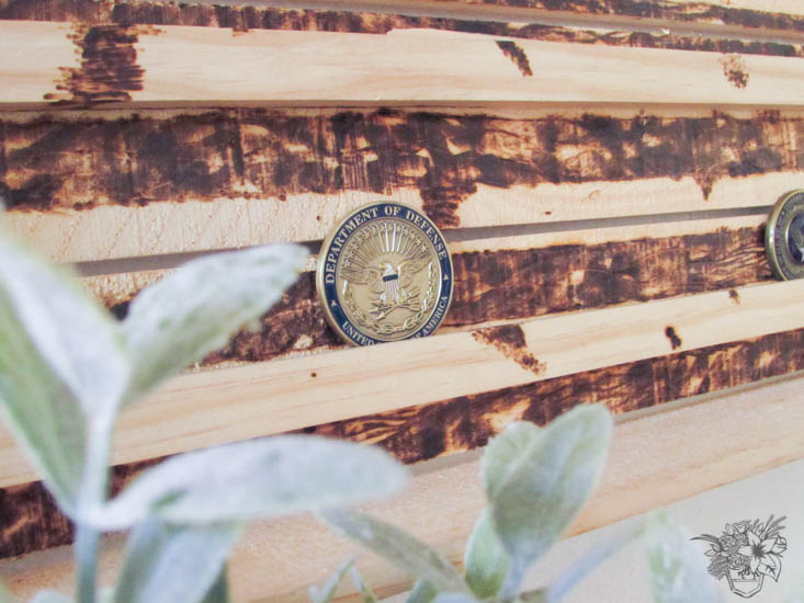 DIY Miitary Coin Box Create and Share Challenge - Pocketful of Posies