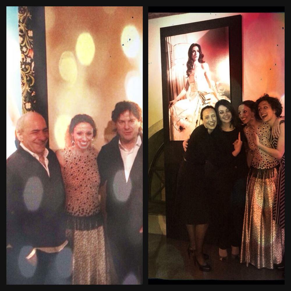 Camillo Bona fashion show - Roma, Acquario romano, 2015. Photo exhibition for the 20th anniversary of Camillo Bona activity