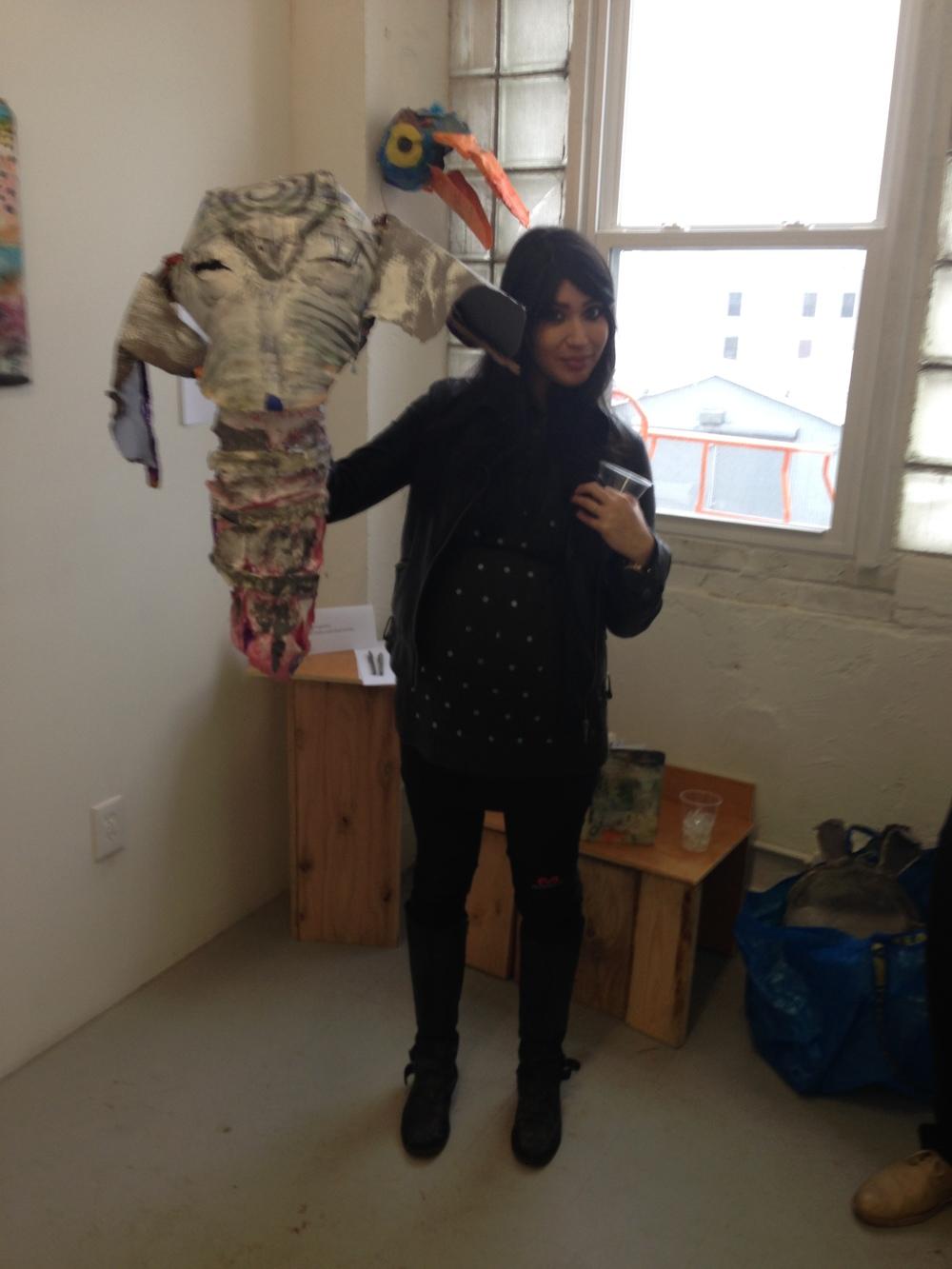 Daniel Lujan's awesome elephant