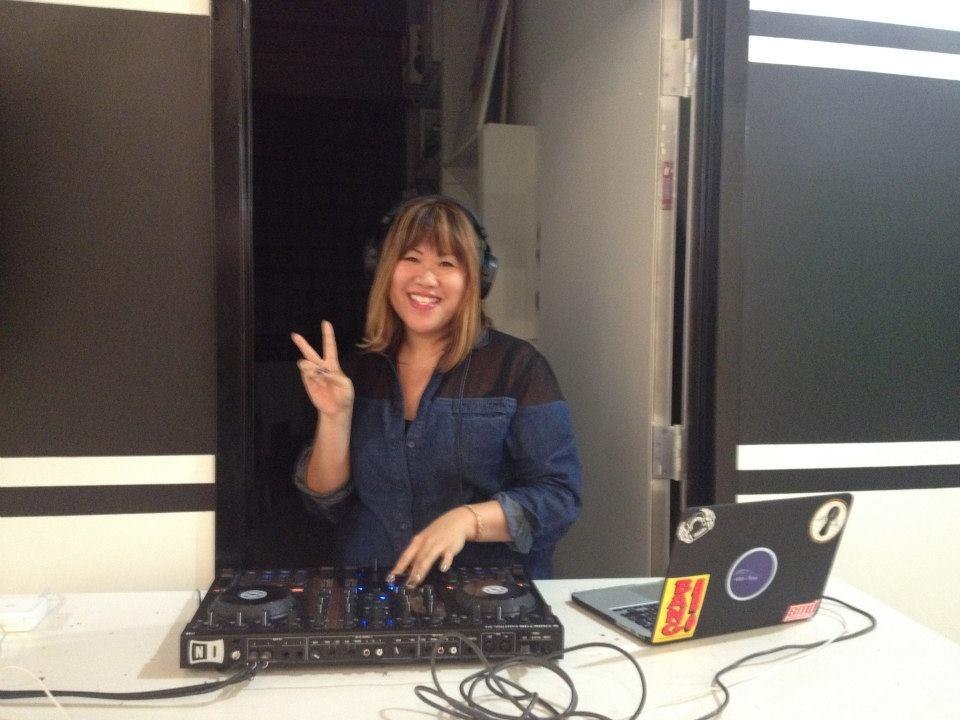 DJing at Parenthesis Art Space
