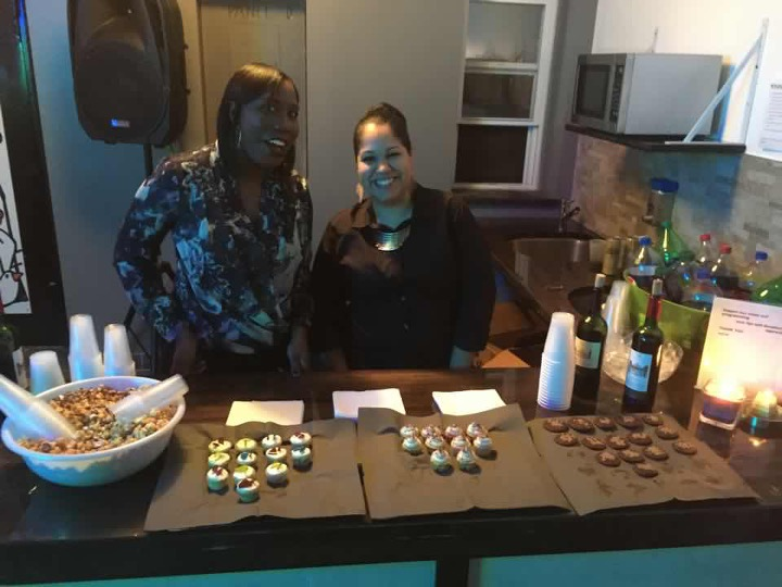 These ladies made the opening run smoothly, kept the party going.