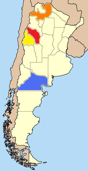 Argentine Provices Growing Torrontés  (Photo   Copyright ©   en:User:Ahoerstemeier   2004)