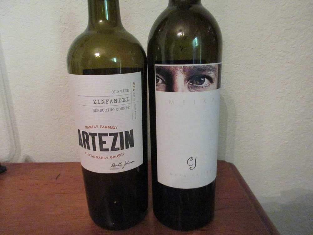 Two wines we enjoyed this week
