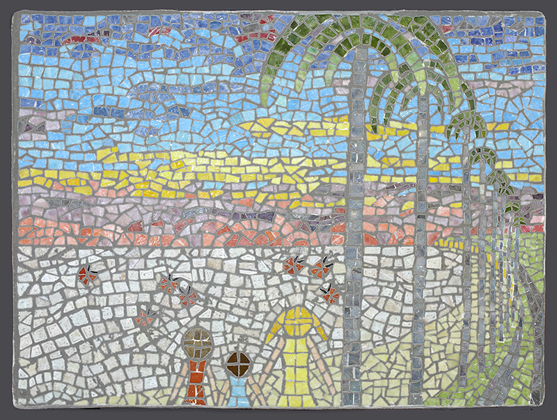 Mosaic from image in client-author's children's book.