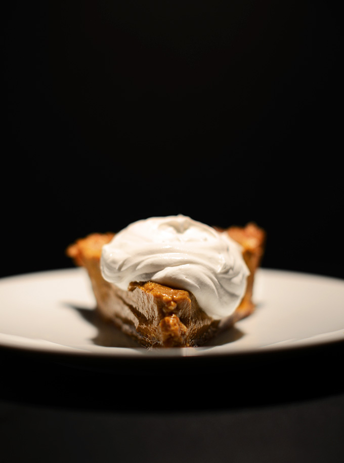 Almost No-Bake Pumpkin Cream Pie With Maple Whipped Cream Recipes ...