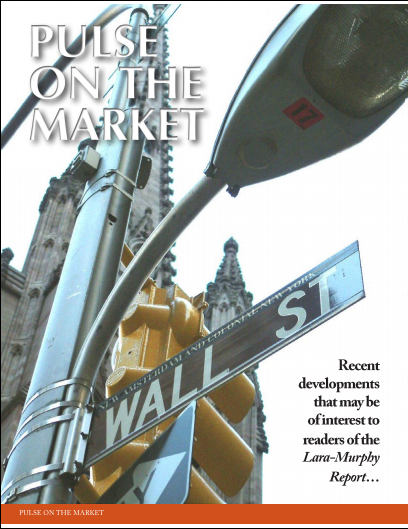 Pulse on the Market from Laura Murphy report