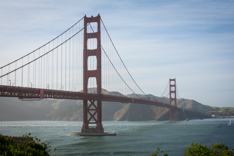 Golden Gate Bridge, I