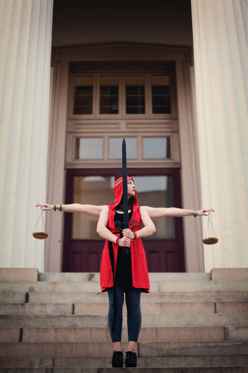 Justice, by Two Spoons Photography