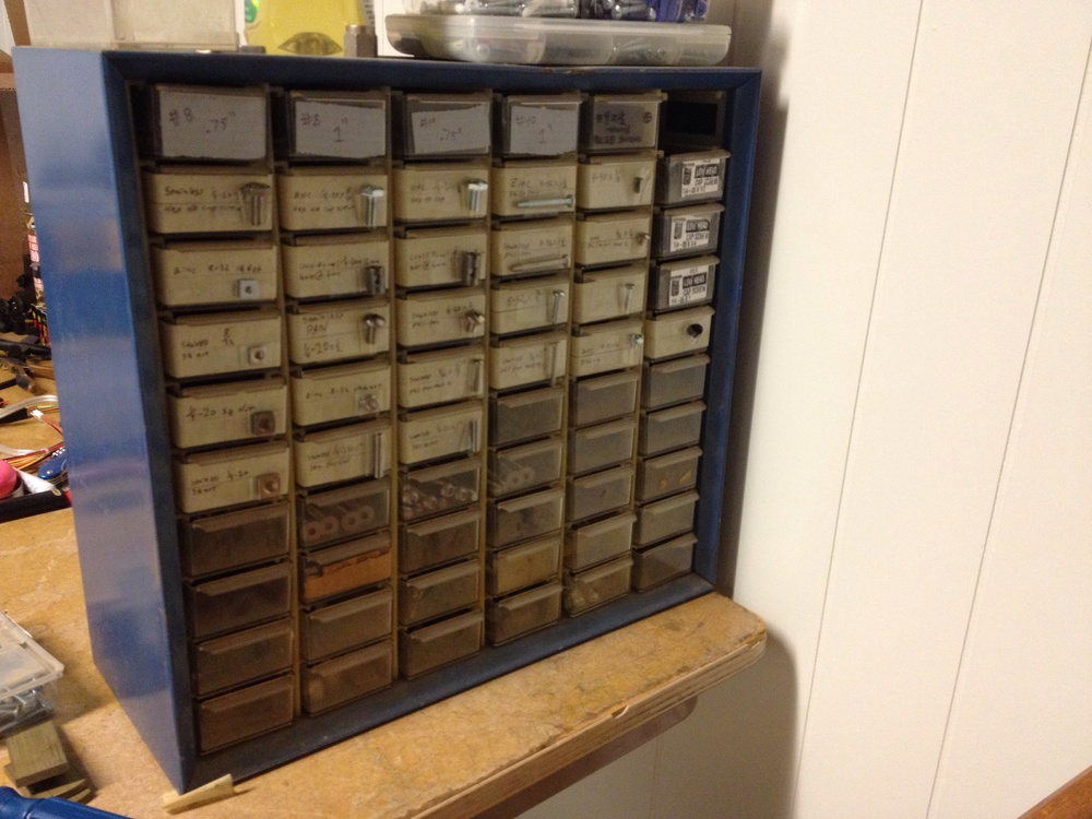 Picked this up at an estate sale.. Can't beat $5 organization!