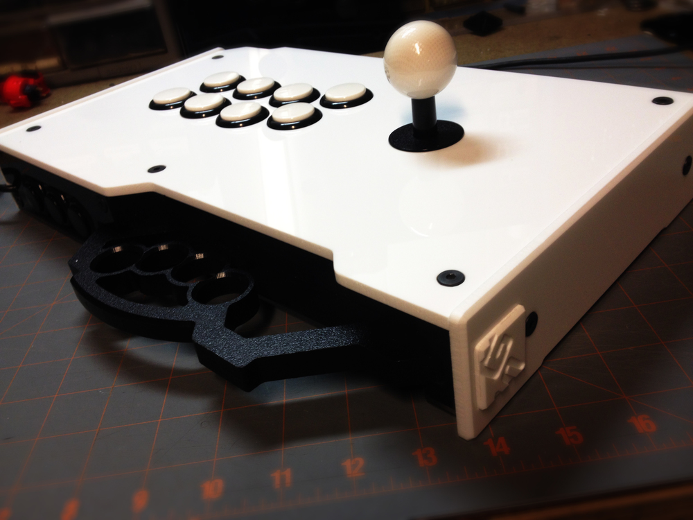 New solid white acrylic is now here and look slick as hell.