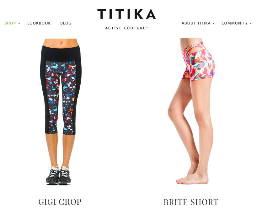 Titika Active Couture Canada