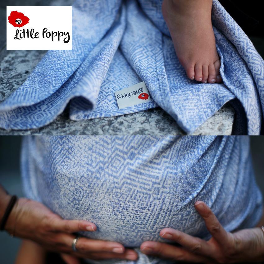 Shibori design for Little Poppy Slings